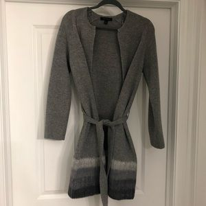 Ann Taylor belted cardigan